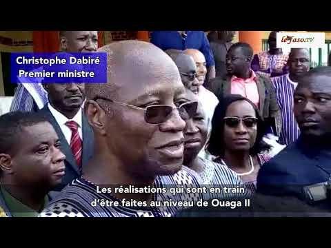 Université Ouaga II l'État d'avancement des travaux jugé satisfaisant