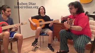 Erstellen Sie Melodien, die auf der Dur-Tonart 2 (F) Lernen von Paco de Lucias Stil / Ruben Diaz, flamenco-Unterricht