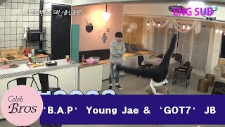 "Young Jae & JB Celeb Bros EP5 ""Dancing King"""