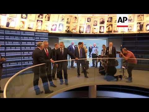 Russia defence minister visits Yad Vashem memorial