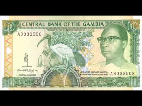 BANKNOTES THE GAMBIA 1991-1995 ISSUE