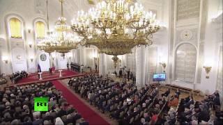 Владимир Путин вручает государственные премии