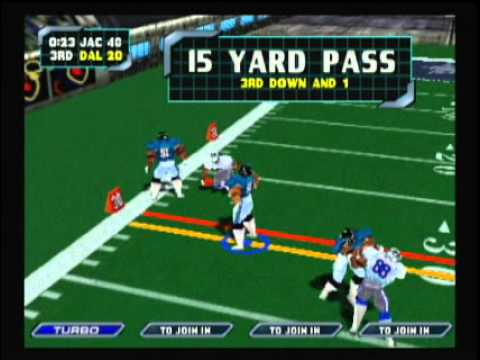 NFL Blitz 2000 - Jaguars vs Cowboys (2nd Half)