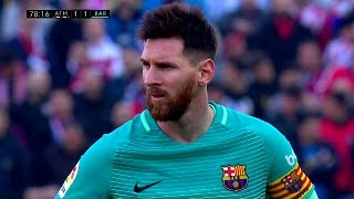 Lionel messi vs atletico madrid (away) 16-17 hd 1080i by irammessitv