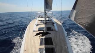 Hanse 575: Mallorca - Barcelona Crossing