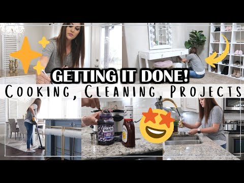 ALL DAY CLEANING MOTIVATION 2020   COOK & CLEAN WITH ME   Til Vacuum Do Us Part