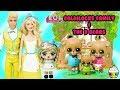 LOL Custom Goldilocks Family & The Three Bears Story Cupcake Kids Club