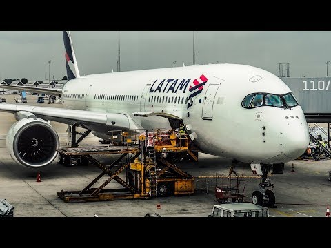 TRIP REPORT | Qatar Airways / LATAM | Airbus A350-900 XWB |