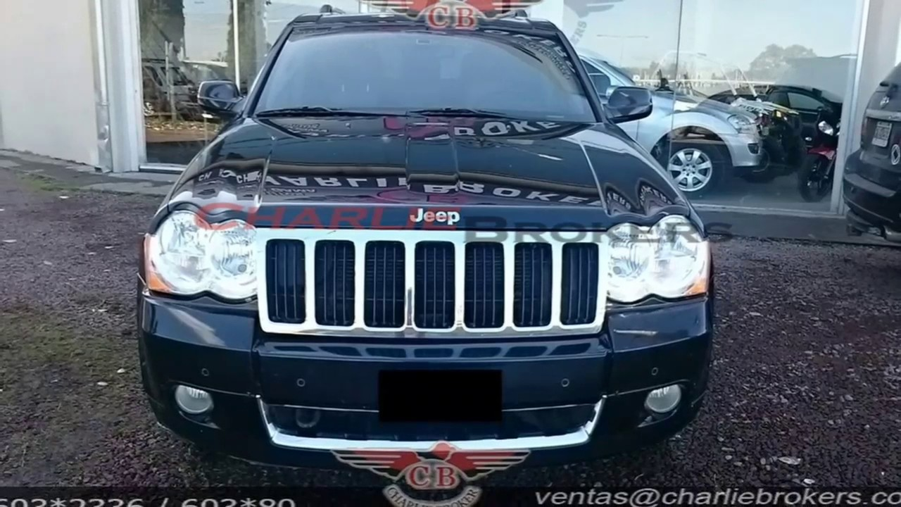 jeep grand cherokee 2009 at 4.7 limited charliebrokers - youtube