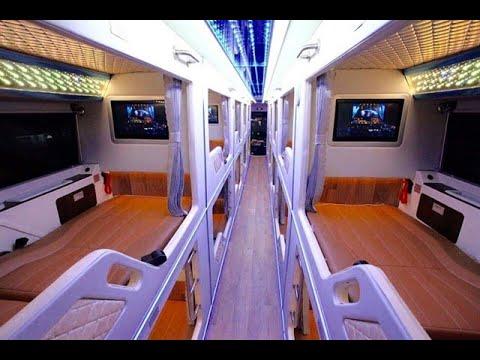 Trải nghiệm xe giường nằm cao cấp và tàu cao tốc đi Phú Quốc.体验豪华车和快艇去富国岛