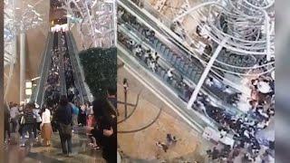 Escalator Malfunction in Hong Kong Injures 18 People! | What's Trending Now!