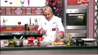 برنامج المطبخ – الشيف يسري خميس – أكلات الكريسماس – حلقة الثلاثاء 30-12-2014 – Al-matbkh