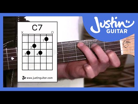 G7, C7, B7 Chords(Guitar Lesson BC-141) Guitar for beginners Stage 4