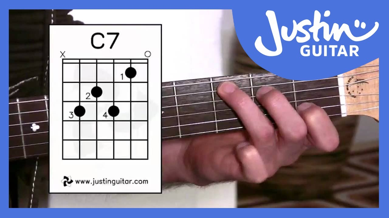 G7 c7 b7 chords justinguitar reheart Choice Image