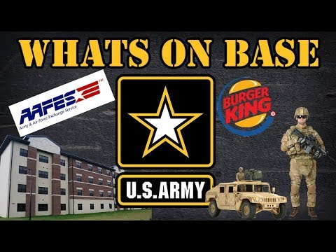 Whats On An Army Base