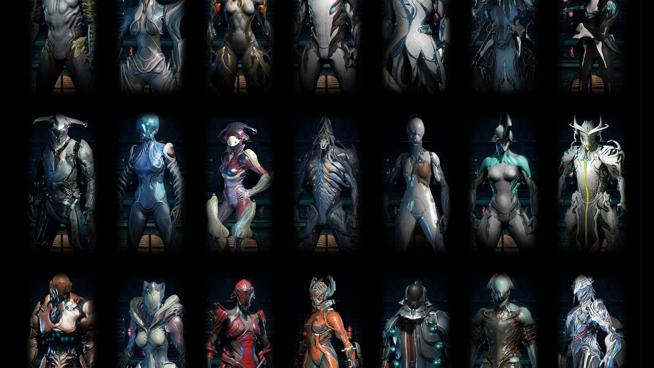 All Characters Warframe All And Abilities