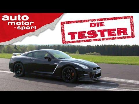 Nissan GT R Japanisches Ungeheuer Die Tester auto motor und sport