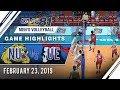 UAAP 81 MV: NU vs. UE   Game Highlights   February 23, 2019