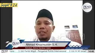Arogansi Israel Di Masjidil Aqsha Simbol Hegemoni Dunia - Closing Statement - Ahmad Khozinuddin S.H.