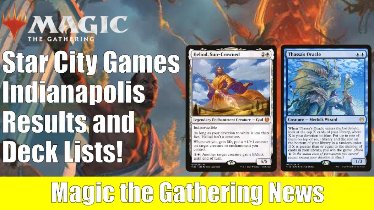 MTG News: Star City Games Indianapolis Results and Deck Lists