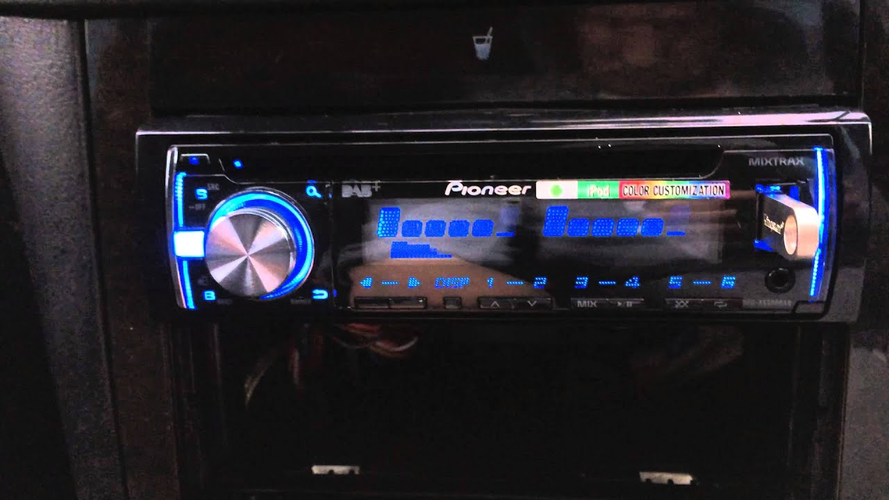 Pioneer Deh X Dab Digital Radio Car Cd Mp3 Stereo Usb