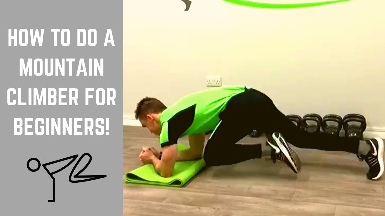 How to Do Mountain Climbers | At home Core Exercises - YouTube