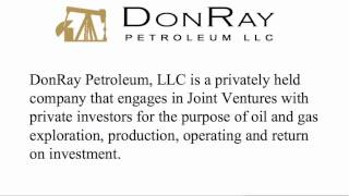 DonRay Petroleum Announced Completion of the DRP Grace #10 Well