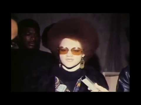 Kathleen Cleaver talks briefly of bombing's against The Black Panther Party