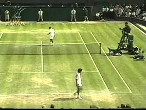 Pete Sampras great shots selection against Goran Ivanisevic (Wimbledon 1998 FINAL)