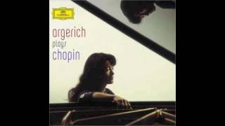 Argerich Plays Chopin:  Ballade No. 1 in G minor, Opus 23