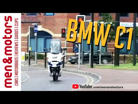 Bmw C1 2002 Review Youtube
