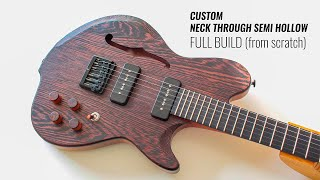 Custom Guitar Build from scratch (Great Guitar Build Off Unofficial)