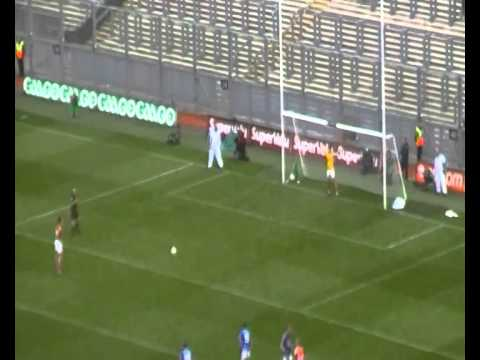 Cillian O'Connor penalty for Mayo v Kerry 2014