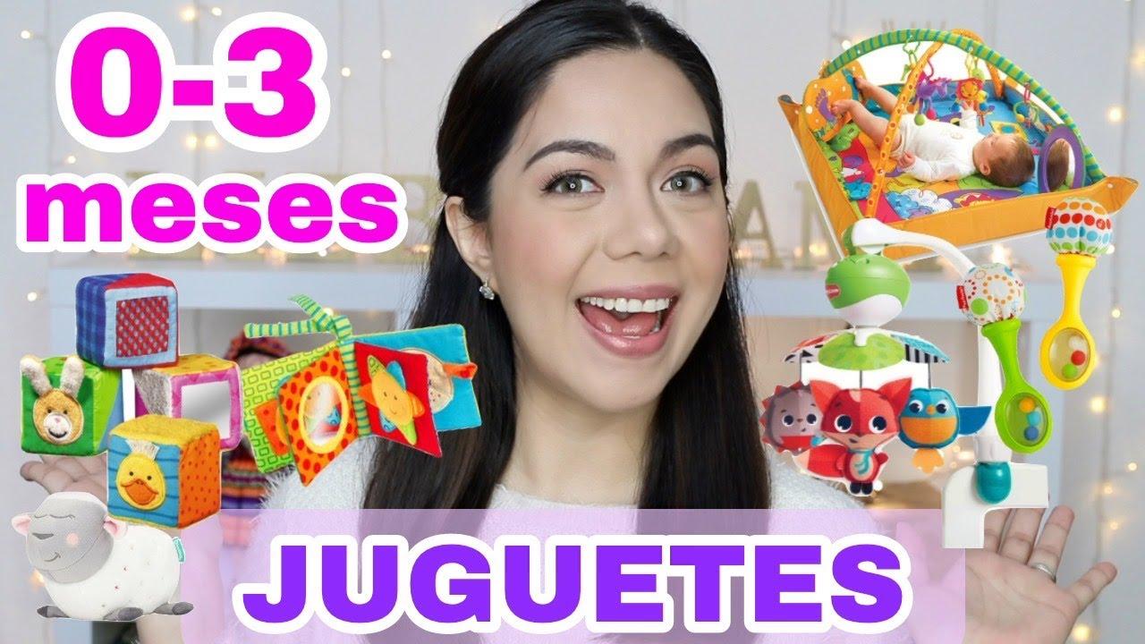Los Mejores Juguetes Para Bebés De 0 3 Meses Liebe Mami Youtube