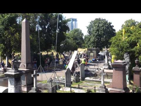 Doctor Who - Brompton Cemetery -  Filming - 18th July 2014