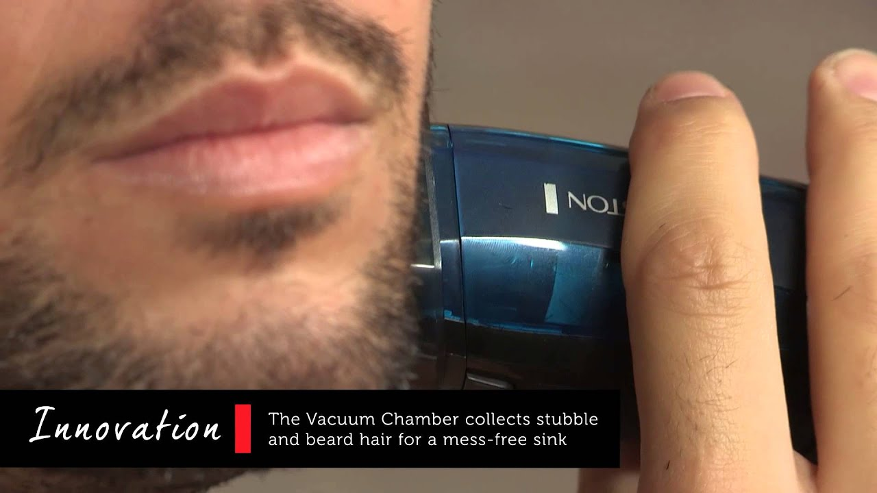 no mess vacuum beard trimmer youtube. Black Bedroom Furniture Sets. Home Design Ideas