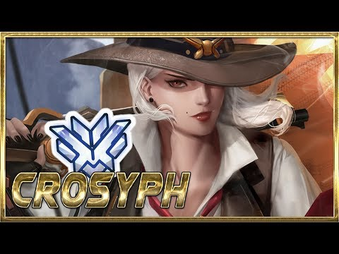"""""""CROSYPH"""" WORLD'S BEST ASHE PLAYER - OVERWATCH MONTAGE thumbnail"""