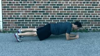 SHOULDER TAP PLANK [Bodyweight Fight Deck Exercise 21 of 34]