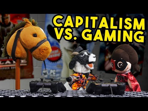 Capitalism is KILLING Gaming | Breadville Puppet Theater