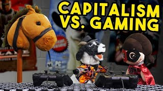 Capitalism is KILLING Gaming   Breadville Puppet Theater