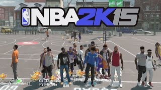 NBA 2k15 MyPARK 3vs3 Gameplay - QJB Gets Ankles Broken While Subscribers Watch! Alley Oops All Day