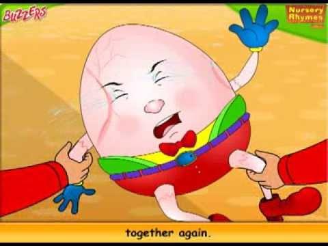 Humpty Dumpty - Nursery Rhymes for Kids Buzzers