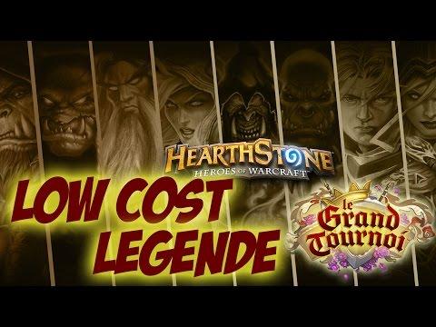 9 DECKS LOW COST LEGENDE - le grand tournoi hearthstone