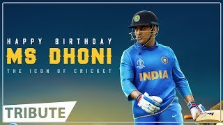 Tribute To Our Dearest Thala Dhoni | Happy Birthday Dhoni | M S Dhoni | Dhoni Birthday 2019