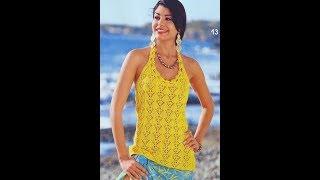 А вы умеете вязать крючком женские кофточки? / You know how to crochet women's blouses?