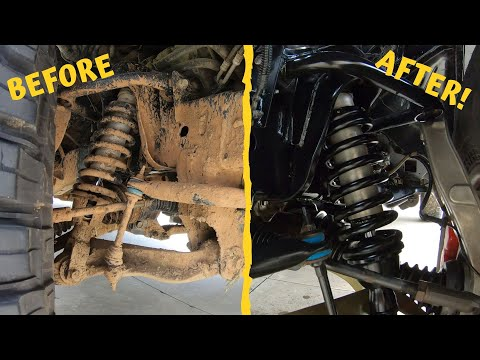 How To Clean Your Jeep or Truck Suspension and Make It Look Brand New!