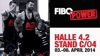 Fibo 2014 Sonntag mit Alon Gabbay, Tim Gabel, Sergi Constance - ROADTOGLORY