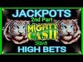 Mighty Cash DOUBLE UP Slot Machine HANDPAY JACKPOT ...