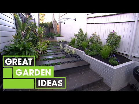 Jason discovers two small space gardens to inspire