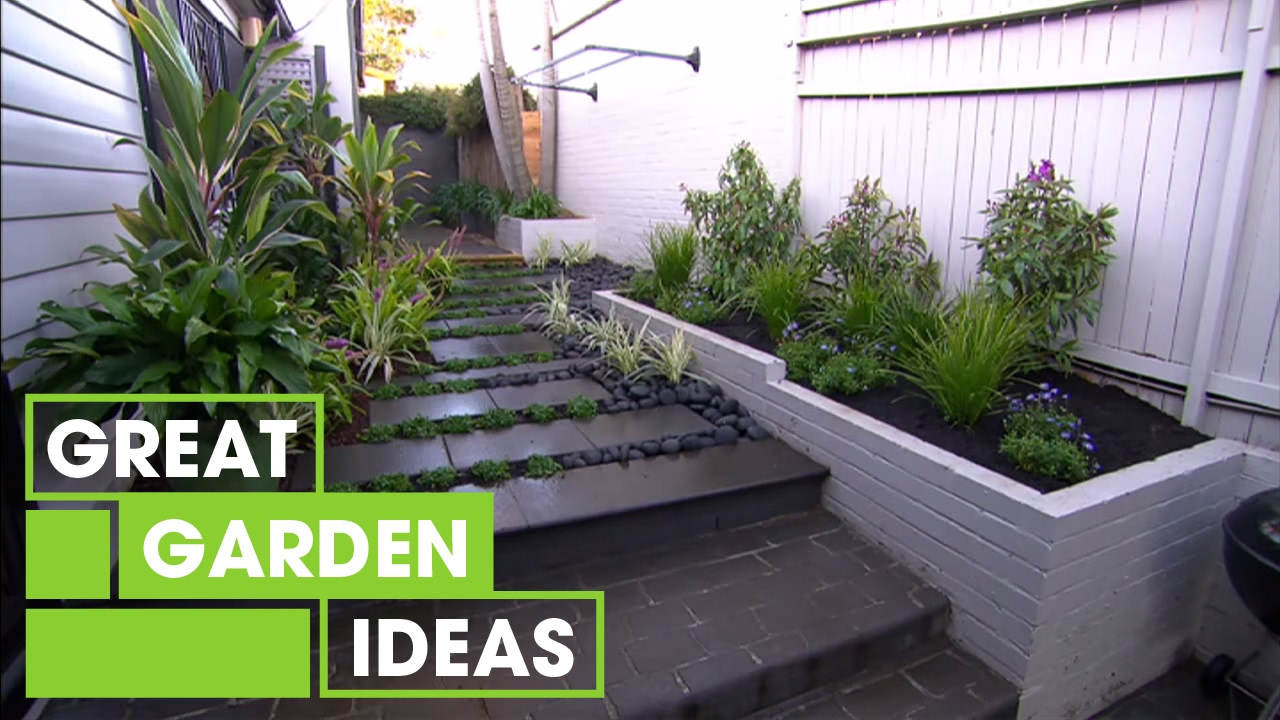 Inspirational small space gardens gardening great home for Great garden designs